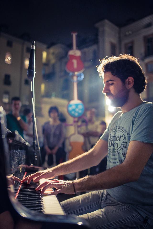 ALBERTO CIPOLLA - Live @Festa Della Musica di Torino 2014